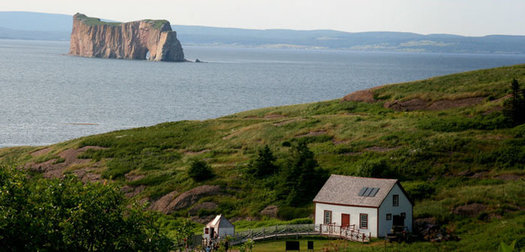 Coordinates Gaspé: Quebec's Land's End