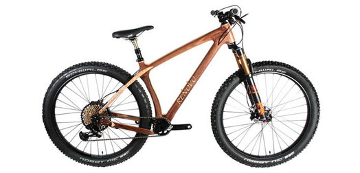 Changing Lanes and Grains: Renovo turns timber into smooth-riding bikes