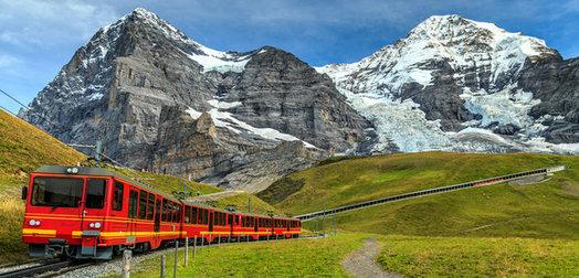 Coordinates Grindelwald, Switzerland