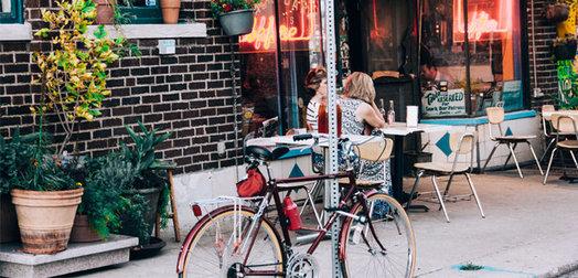 Fast-Lane to Fries: Bike-through restaurant service needs a good shake