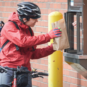 Fast-Lane to Fries: Bike-through restaurant service needs a good shake