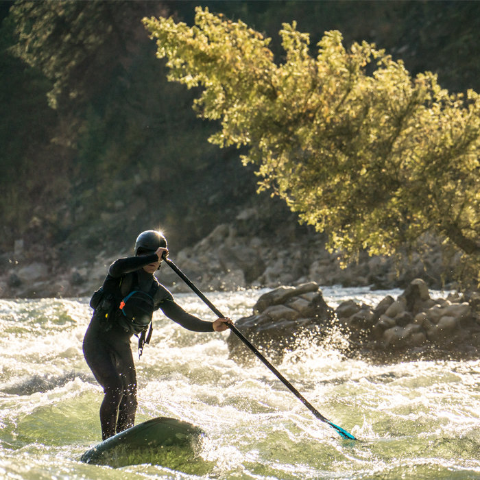 Gear That Got It Done: Whitewater SUP Paddling