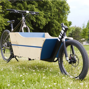 Roll with it - All of it: Startup aims to convert standard bikes for cargo duty