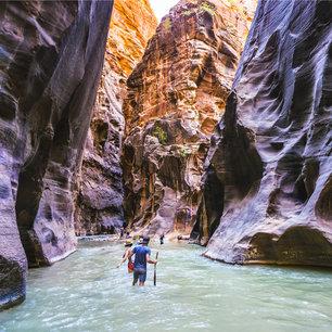 Coordinates: Zion National Park