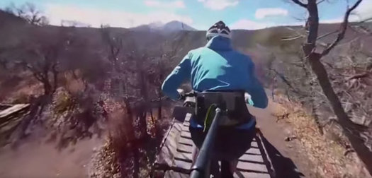 Mountain biking Colorado's Prince Creek Trails