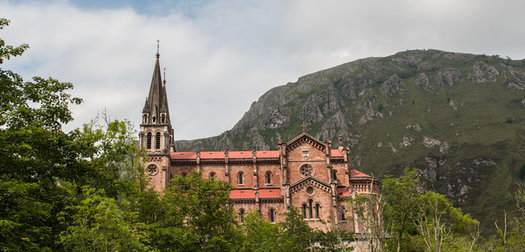 The Sanctuary of Covadonga