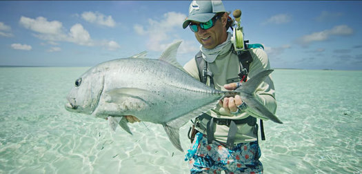 Fishing the Cosmoledo Atoll in Search of Giant Trevally