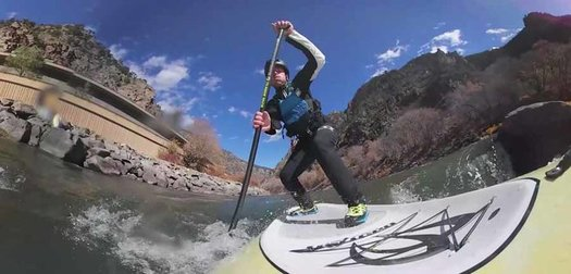 Running the Colorado River by SUP & Pack Raft
