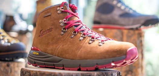 Danner Mountain 600:  Looking Good In Any Neighborhood — Or On Higher Ground