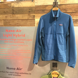 Starting Small, Going Big: Patagonia heats up apparel with the Nano-Air line