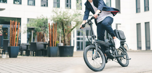 New Folding E-Bike: The Tern Elektron