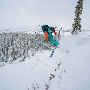 Big Mountain Skiing in Crested Butte, Colorado