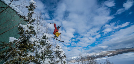 Skiing the Town: Crested Butte