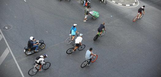 Biking Bangkok